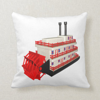 Barco del vapor almohadas