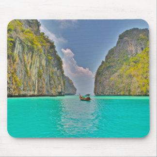 Barco en bahía de la phi de la phi de la KOH Tapete De Raton