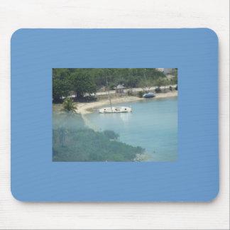 barco en Jamaica Tapete De Raton
