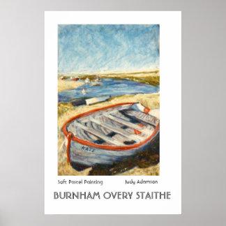 Barco en la impresión o el poster de Burnham Overy