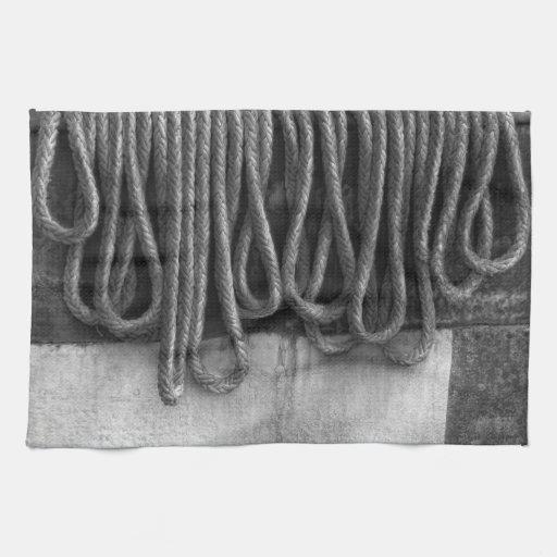 Barco - extracto - ajuste que se atará toallas de mano