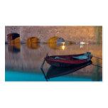 Barco francés tarjeta de visita