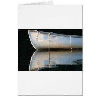 Barco ideal tarjeta de felicitación