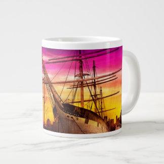 Barco - navegación - semana de la flota taza grande