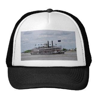 Barco New Orleans del río Misisipi Gorras De Camionero