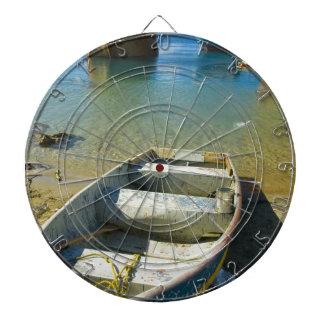 Barco oxidado tablero dardos