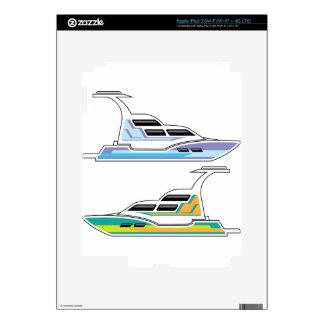 Barco Pegatina Skin Para iPad 3