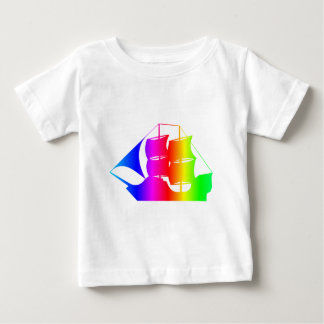 Barco pirata 2 del arco iris poleras