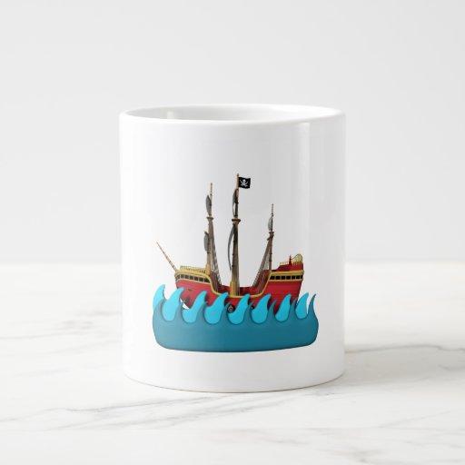 Barco pirata 2 taza grande