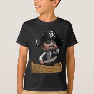 barco pirata 3d (cualquier color U tiene gusto!) Playera