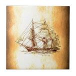 barco pirata azulejos ceramicos