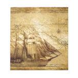 barco pirata bloc de notas