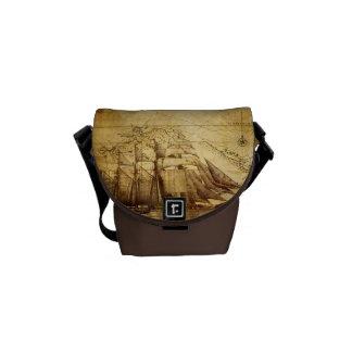 barco pirata bolsas de mensajería