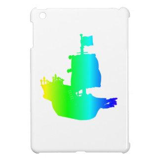 Barco pirata del arco iris