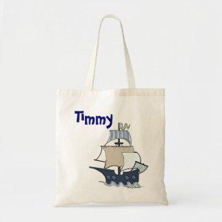 Barco pirata del dibujo animado
