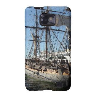 Barco pirata en San Diego California Galaxy S2 Fundas