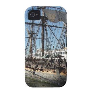 Barco pirata en San Diego California Vibe iPhone 4 Carcasas