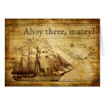 barco pirata felicitación
