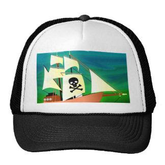 Barco pirata gorras