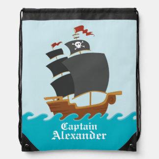 Barco pirata mochilas