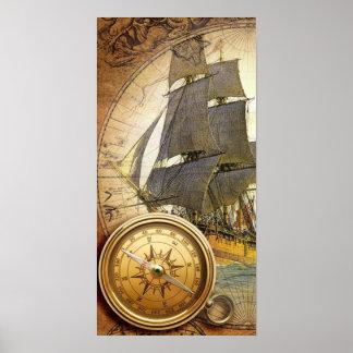 Barco pirata poster