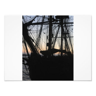 Barco pirata arte fotográfico