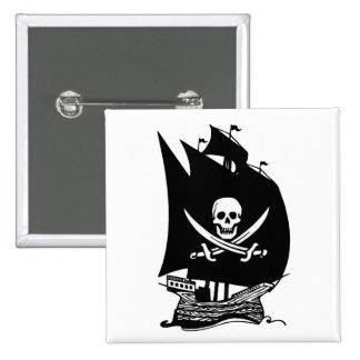 Barco pirata pin