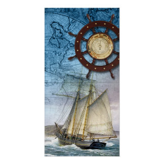 Barco pirata póster