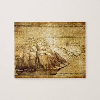barco pirata puzzle con fotos