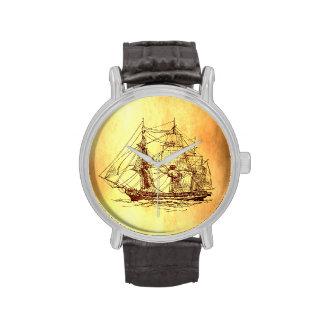 barco pirata relojes de pulsera