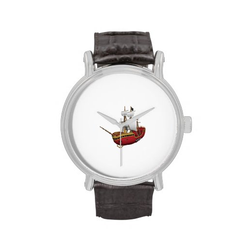 Barco pirata reloj de mano