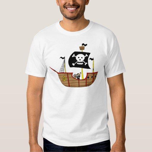 Barco pirata remeras