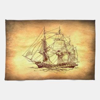 barco pirata toallas de cocina