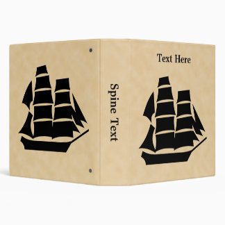 "Barco pirata. Velero Carpeta 1 1/2"""