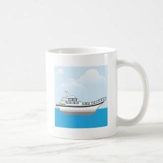 Barco privado taza