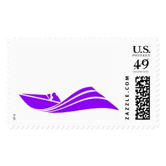 Barco púrpura violeta de la velocidad envio