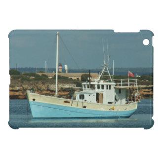 Barco rastreador de Liveaboard Shrimping iPad Mini Funda
