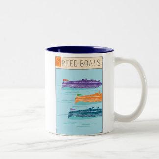 Barco-Taza de la velocidad