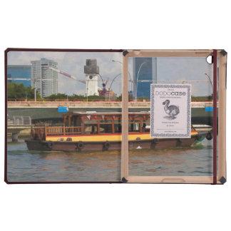 Barco turístico en Singapur en el río iPad Cárcasas