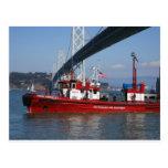 Barco uno del fuego - San Francisco Postal
