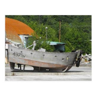 Barco varado tarjetas postales