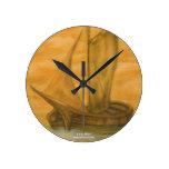 Barco viejo reloj