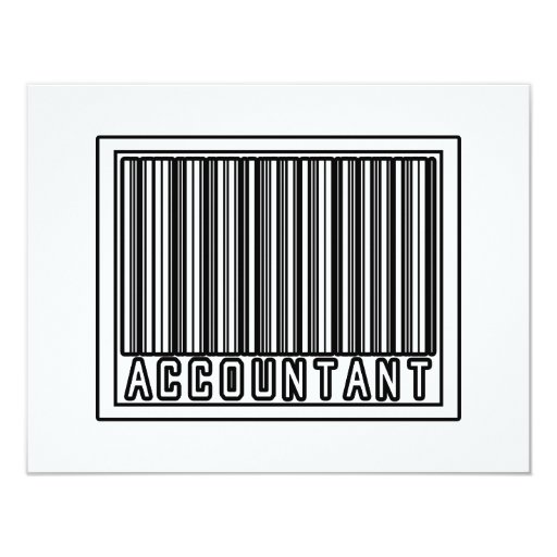 Barcode Accountant Card