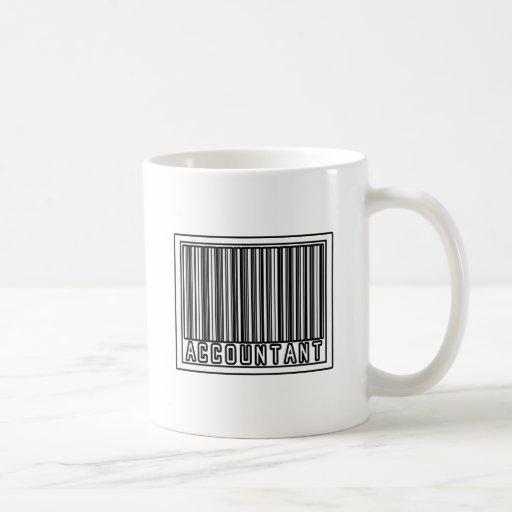 Barcode Accountant Coffee Mugs