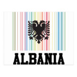 Barcode Albania Post Cards