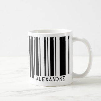 Barcode ALEXANDRE Coffee Mug