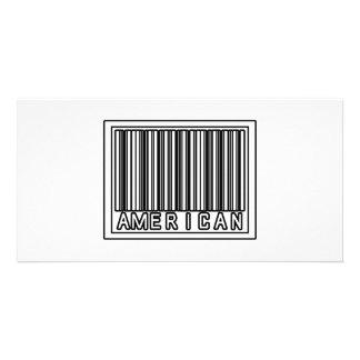 Barcode American Photo Card