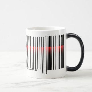 Barcode and Laser Scan Magic Mug