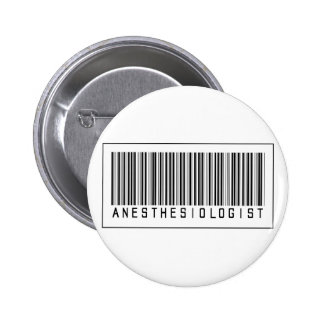 Barcode Anesthesiologist Button