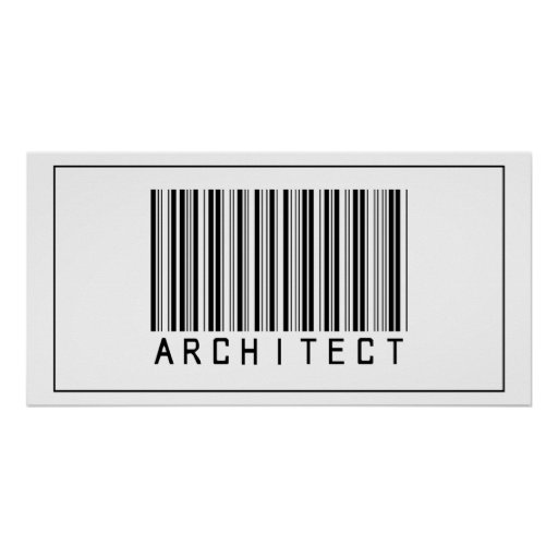 Barcode Architect Posters